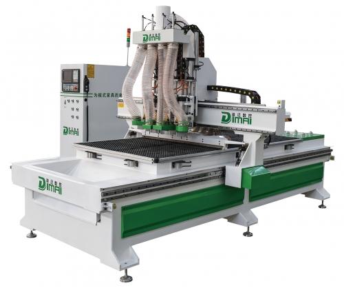 迪迈板式家具生产线之四工序开料机